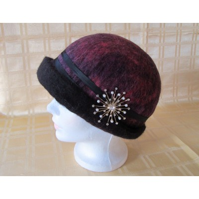 Sunburst Cloche Hat