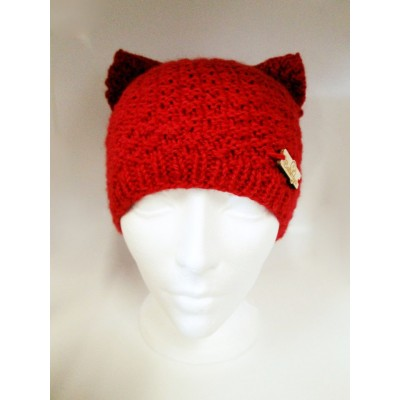 Tuque d'oreille de chat