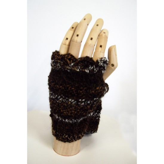 Wrist-warmers- Colors of our Flock