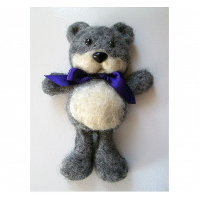 Peluche- Ours Gris
